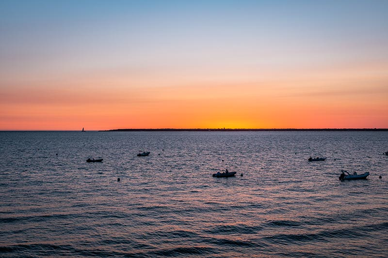 Photographie paysage See you tomorrow baie d'arcachon au coucher du soleil
