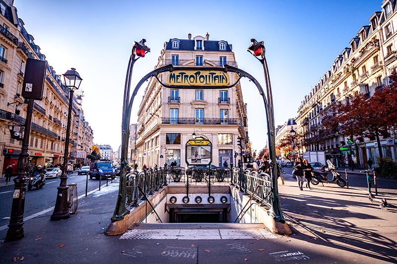 Photographie urbaine Métro de Paris