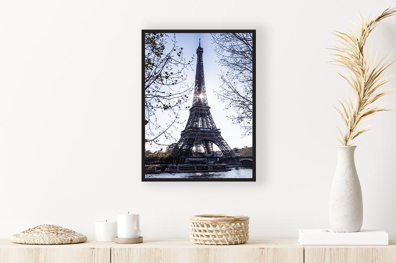T1 Tour Eiffel automnale Mise en scène GUILLOT IMAGES Galerie en ligne photographie d'art