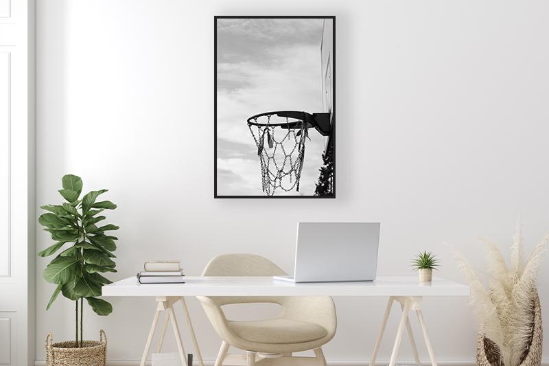 T2 Panier de basketball Mise en scène GUILLOT IMAGES Galerie en ligne photographie d'art