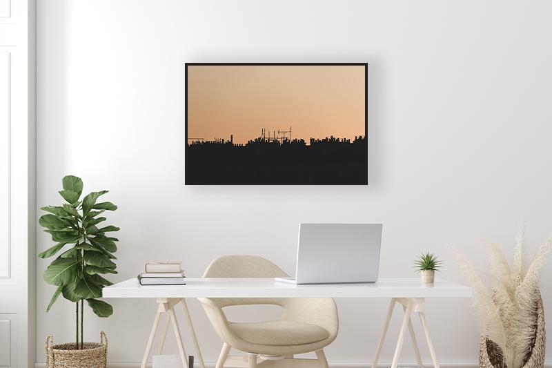 T2 Skyline de banlieue Mise en scène GUILLOT IMAGES Galerie en ligne photographie d'art