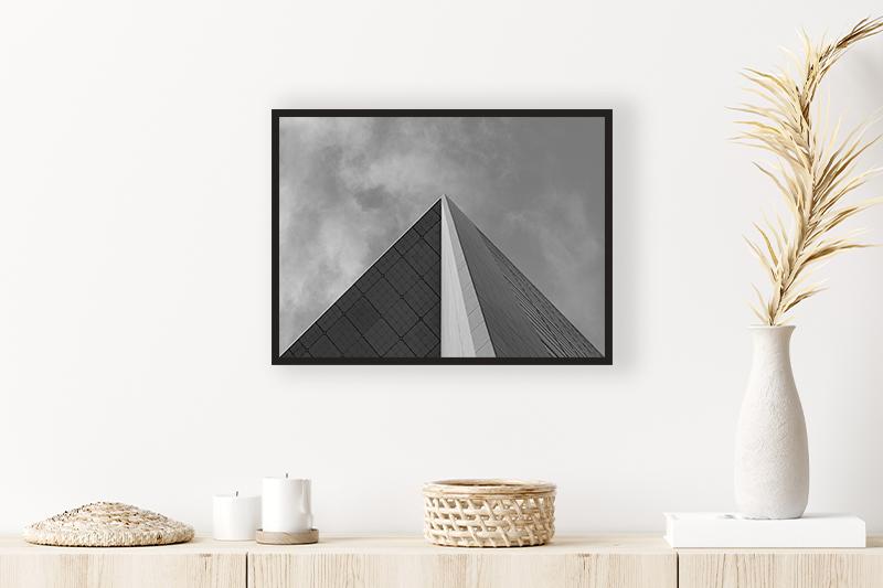 T1 Pyramide Mise en scène GUILLOT IMAGES Photo Noir et Blanc