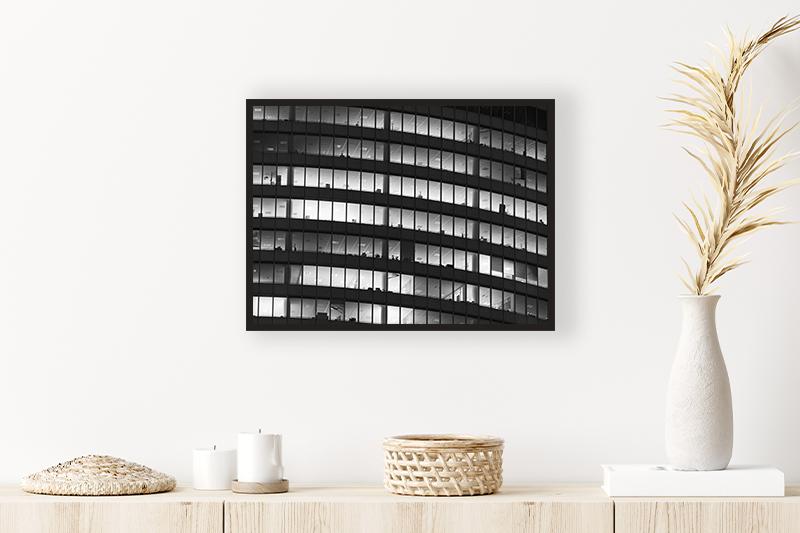 T1 Télétravail Mise en scène GUILLOT IMAGES Photo Noir et Blanc